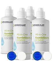 Lensdealer soczewki kontaktowe, środek do pielęgnacji z kwasem hialuronowym All-in-One