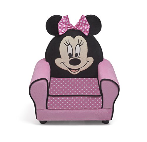 Disney Minnie Figural Upholstered Chair by Disney