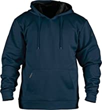 Rawlings Youth Brushed Performance Fleece Hoodie, Small, Navy