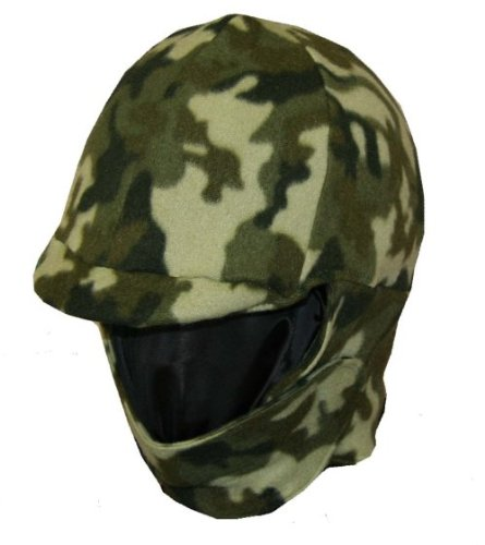 ding Helmet Cover - Green Camouflage ()
