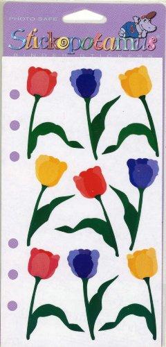 (Spring Tulips Stickopotamus Scrapbooking Stickers)