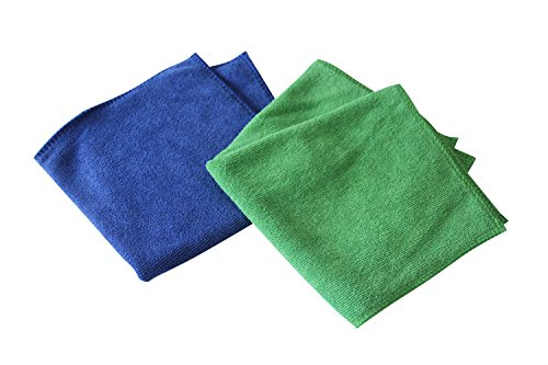 Generic Microfiber Cleaning Cloths Towel 20cm x 20cm For Household Cleaning, Kitchen, Car, Windows and More (Pack of 50)