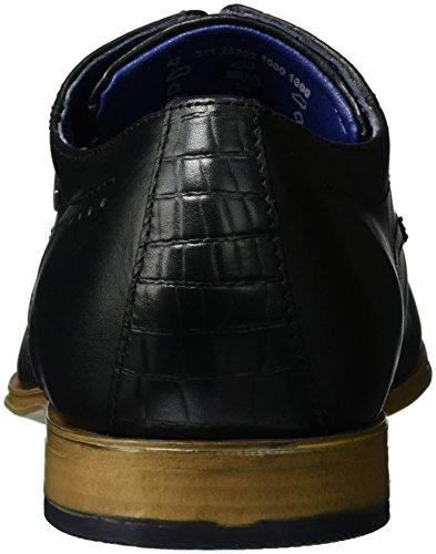 Bugatti Herren 311252021000 Derby Schwarz (schwarz 1000)