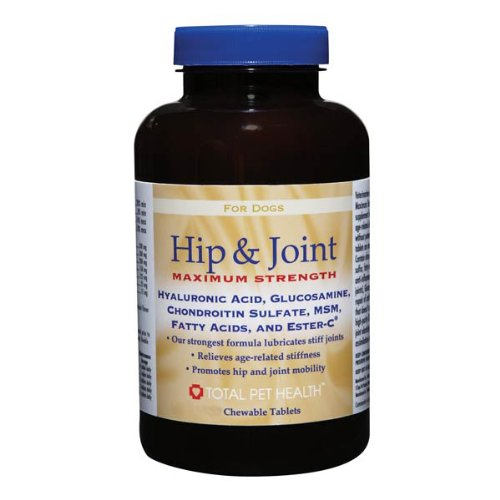 Total Pet Health Dog Hip and Joint Maximum Strength Tablet, 180-Pack, My Pet Supplies
