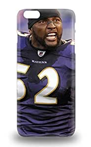 Iphone 6 Plus Case Cover Slim Fit Tpu Protector Shock Absorbent Case NFL Baltimore Ravens Ray Lewis #52 ( Custom Picture iPhone 6, iPhone 6 PLUS, iPhone 5, iPhone 5S, iPhone 5C, iPhone 4, iPhone 4S,Galaxy S6,Galaxy S5,Galaxy S4,Galaxy S3,Note 3,iPad Mini-Mini 2,iPad Air )