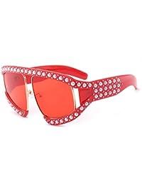 MINCL/Oversized Fashion Sunglasses Womens Diamond Big...