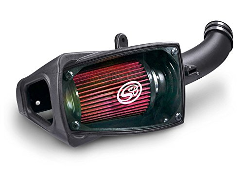 S&B Filters 75-5104 Cold Air Intake for 2011-2016 Ford Powerstroke 6.7L (Cleanable Filter) by S&B