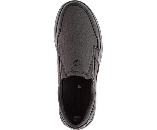 Merrell Mens Berner Shift Moc Fashion Sneaker Nero
