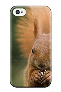 New Fashion Premium Tpu Case Cover For Iphone 4/4s - Squirrel