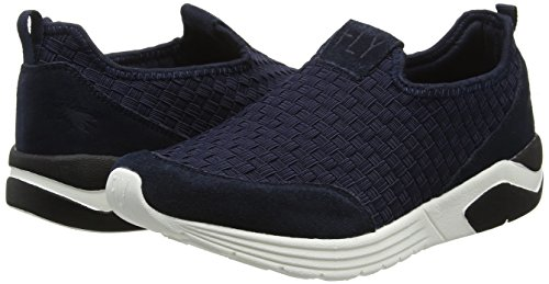 Fly 001 Blu London Donna blue Scarpe Ginnastica Da Sauf826fly Basse gUqrg