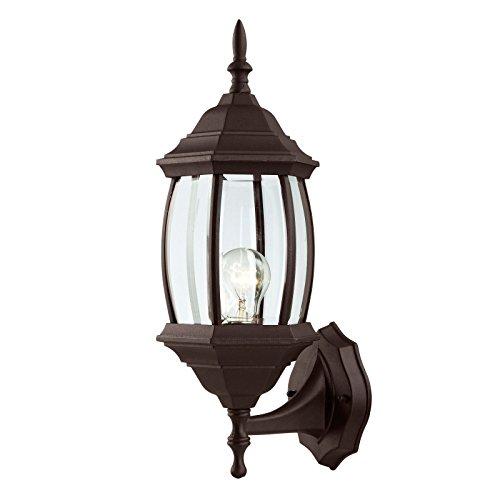 Outdoor Exterior Wall Lantern Light Fixture, Oil Rubbed Bronze