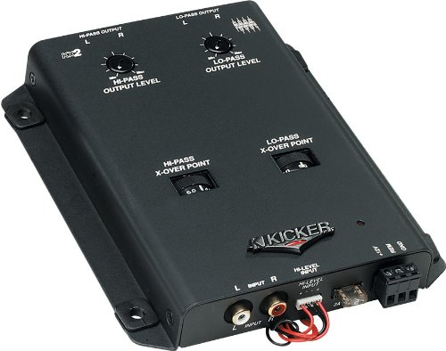 Kicker 03KX2 2-Way Active Crossover 2 Way Active Line