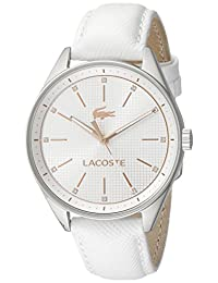 Lacoste Women's 2000900 Philadelphia Analog Display Japanese Quartz White Watch