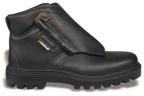 Cofra zapatos de cuero negro de alta soldadura s3hro 47: Amazon.es: Electrónica
