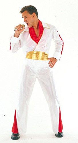 Traje Blanco de Elvis: Amazon.es: Juguetes y juegos