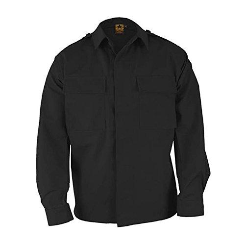 Pocket Bdu 2 (Propper BDU 2-Pocket Coat, 65/35 Poly/Cotton Battle Rip, Choose Size Size X-Large)