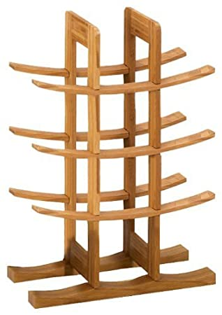 Zeller 13580 Wine Shelf Bamboo 29 x 16 x 42 cm