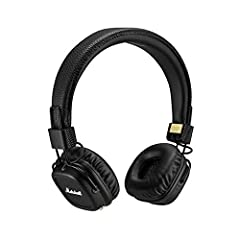 Get unplugged. The Major II Bluetooth gives you the freedom and convenience of a wireless headphone combined with over 50 years of tried and true Marshall performance. Seamlessly connect to your listening device with the latest in Bluetooth t...