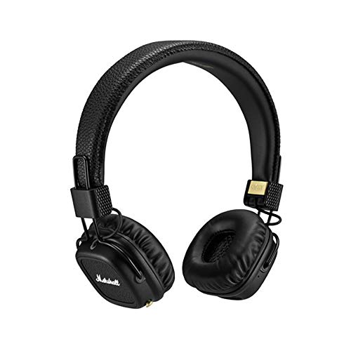 - Marshall Major II Bluetooth On-Ear Headphones, Black (4091378) - Discontinued