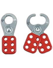 """Safety Series 1"""" Jaw Steel Lockout Hasp"""