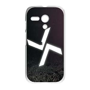 Motorola G Cell Phone Case White Burial Logo X8V5UX