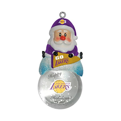 (NBA Los Angeles Lakers Snow Globe Ornament)