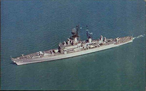 - U.S.S. Reeves DLG - 24 Guided Missile Frigate Boats Ships Original Vintage Postcard