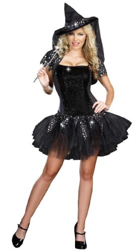 Starry Night Witch Costumes - Starry Night Witch Costume - X-Large