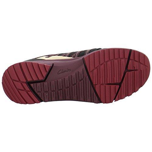 Clarks Dames Tri Trail Sneaker Zwart
