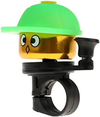 Baoblaze アルミニウム合金 子供 自転車ベル 警報 リング 自転車 ハンドルバー ホーン 装飾 軽量 5色選ぶ