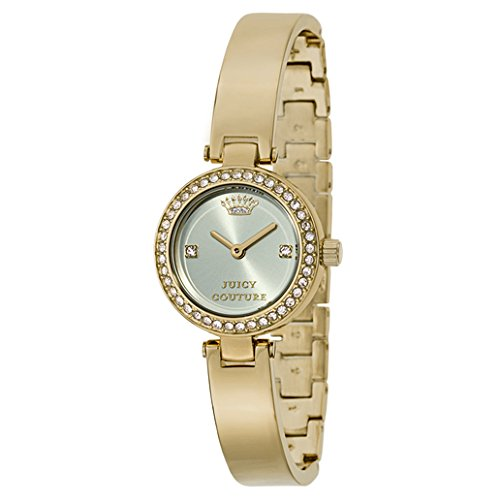 - Juicy Couture Women's 1901225 Luxe Couture Gold-Tone Watch