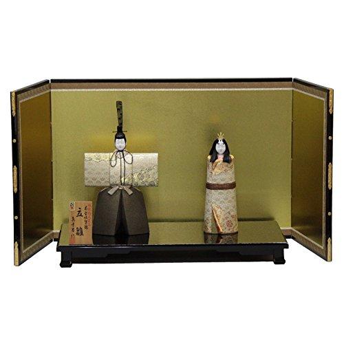 雛人形 平飾り木目込み立雛 本金佐賀錦和泉立雛1903 幅83cm 3mk19 真多呂 伝統的工芸品   B075GLPV3X