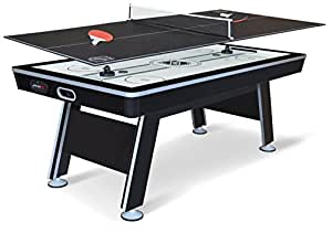 NHL Power Play Hover Hockey Table with Table Tennis Top, 80-inch