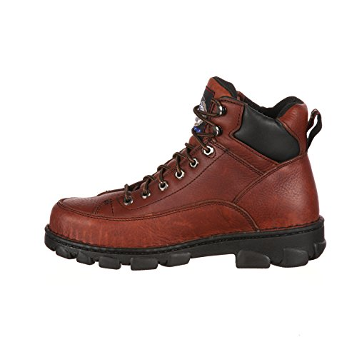 Georgia Mens Eagle Light Wide Load St Werkschoenen-g6395 (m10.5)