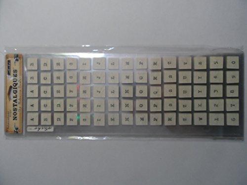 Cracked Glass Rebecca Sower Nostalgiques Scrapbook Stickers - Sticko Nostalgiques Stickers
