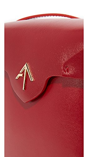 Pristine Women's MANU Mini Red Bag Atelier Box tPUqSaw