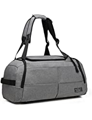 KEYNEW Duffel Bag Convertible to Backpack, Anti Theft Multipurpose Travelling Gym Sports with Shoe Compartment