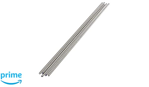 5Pcs Titanium Ti Grade 5 Gr.5 GR5 Metal Rod Diameter 3mm Length 25cm 10 inches