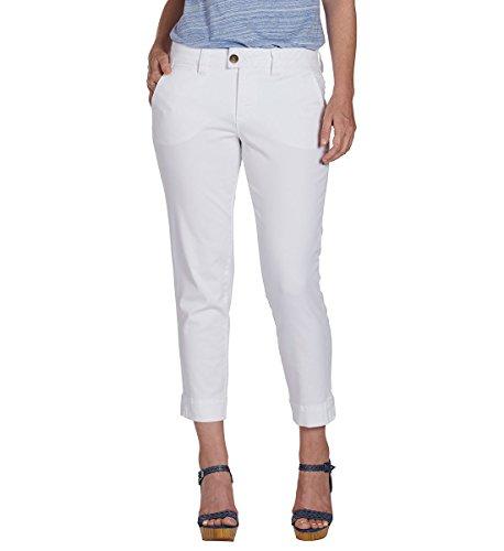 Jag Jeans Women's Creston Ankle Crop, White, 10