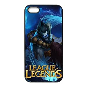 iphone5 5s phone cases Black League Of Legends cell phone cases Beautiful gifts PYSY9388467