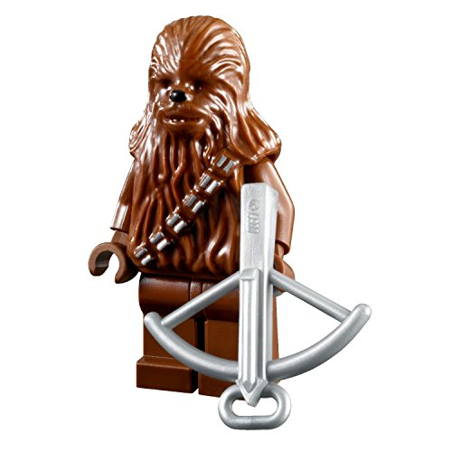 LEGO Star Wars Minifigure Wookiee - Chewbacca Chewy with Crossbow Weapon]()
