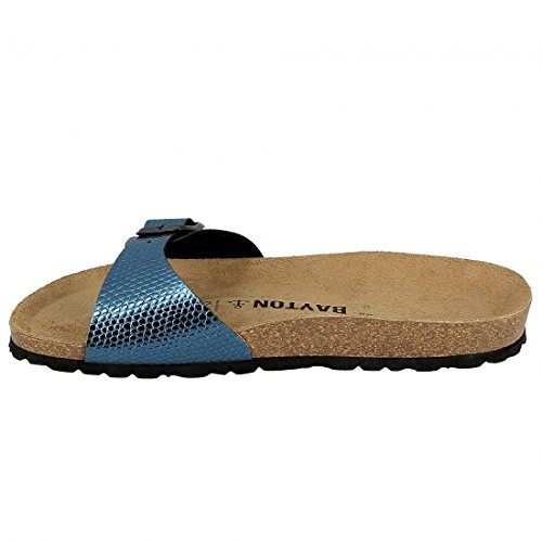 Bayton - Tongs / Sandales - Ba-10229 - Taille 41 - Bleu mE7J5BxfxC