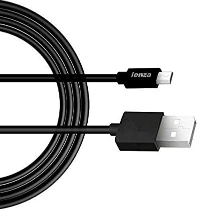 USB Charging and Power Cable for Arlo Pro Security Camera, 10 Ft, Black (