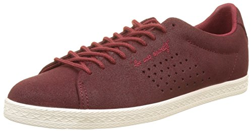 Ruby Sportif Coq Rouge Rouge Femme Baskets Charline Basses Metallic Suede Le Wine vg7a1Rqwq