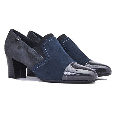 Valleverde Chaussures Femme Couleur Talon Talon 50 Daim, Nouvelle Collection Automne Invenro 2017/2018