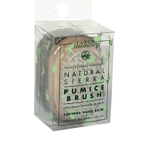 Earth Therapeutics Natural Sierra Pumice Brush - 1 Brush