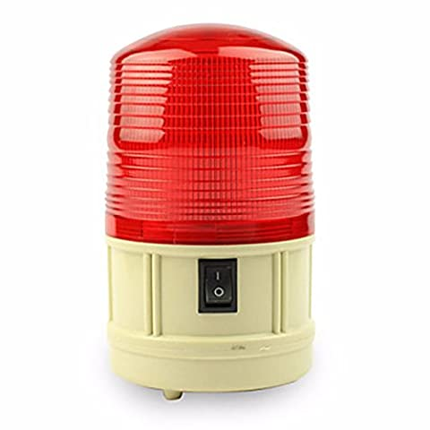 OLQMY-Power Car School Bus Magnetic Warning Flash Beacon Strobe Emergency Light Red/Amber/Blue Install the (The Middle Season 1 2 3 4)