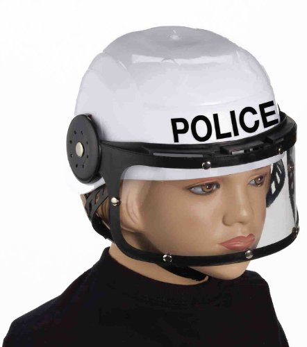 Letter E Fancy Dress Costumes (Forum Novelties Child Police Helmet Costume Accessory)