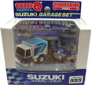 Choro Bike Suzuki garage set (japan import)