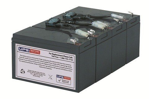 UPSBatteryCenter battery cartridge for DL1400RM by UPS Battery Center